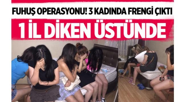 Fuhuş operasyonu! 3 kadında frengi çıktı: Trabzon diken üstünde
