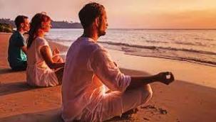 'Meditasyon yaparken uçuyorsanız hemen yere inin'