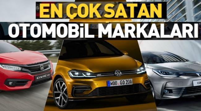 Otomobil markalarının Türkiye'de en çok satan modelleri