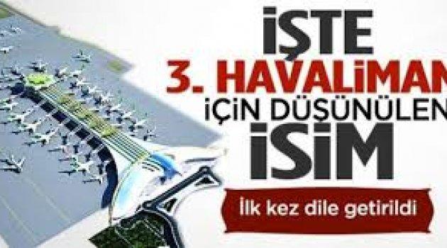 '3. Havalimanı'nın adı Abdülhamit Han olacak' diyen Sevilay Yılman'dan yeni açıklama