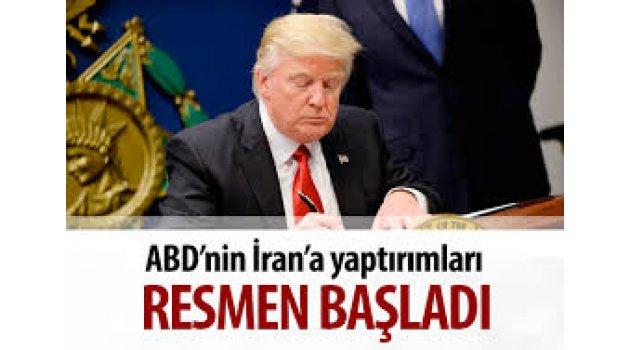 ABD, İran yaptırımlarına resmen başladı!