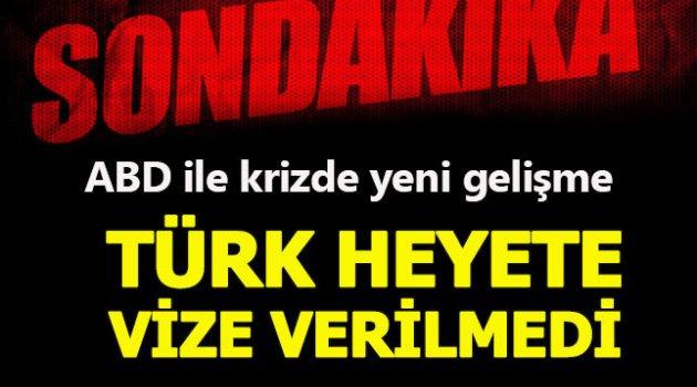 ABD, Türk Adalet Bakanlığı heyetine vize vermedi... Bakanlık'tan jet açıklama