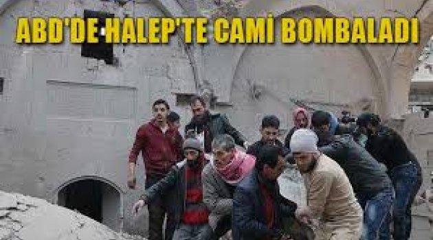 ABD'de Halep'te cami bombaladı