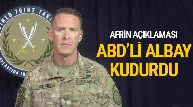 ABD'li Albaydan Türkiye'ye Afrin tepkisi