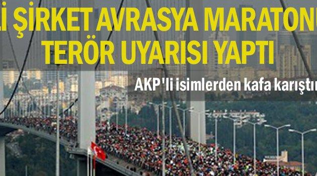 ABD'li şirket Avrasya Maratonu için terör uyarısı yaptı