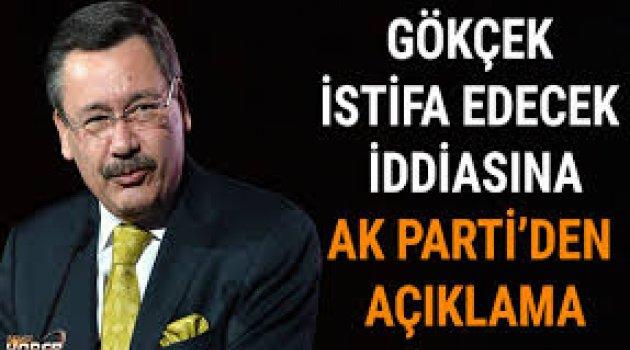 """AK Parti'den ilk açıklama Gökçek için """"İstifa talebi söz konusu değil"""" dedi"""