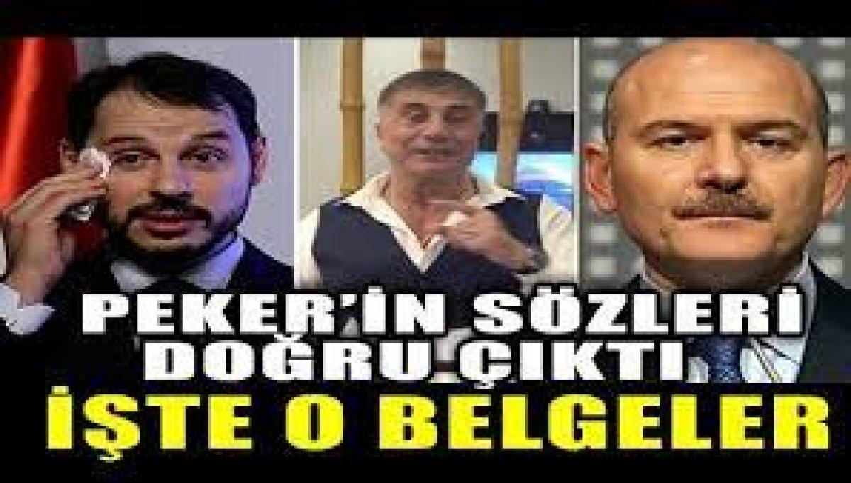 Sedat Peker'in sözleri doğru çıktı - PressTurk