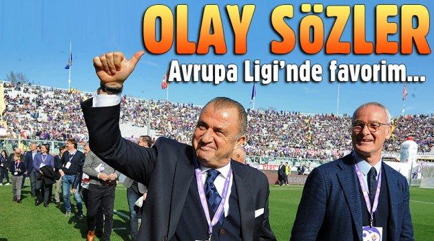 BEŞİKTAŞIN'DA MÜÇADELE ETTİĞİ UEFA KUPASINI UMARIM ROMA KAZANIR DEDİ..