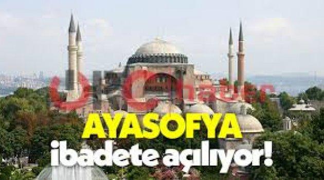 AYM, Ayasofya'nın ibadete açılması için toplanıyor!