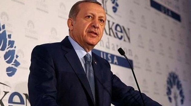 Başkan Erdoğan'dan ABD'de flaş mesajlar!