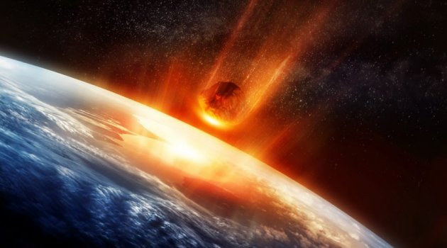 Beklenen tarih geldi NASA'nın uyardığı gök taşı geliyor!