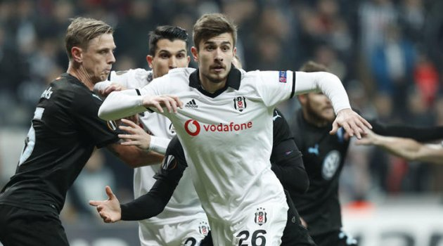 Beşiktaş Avrupa'ya evinde veda etti