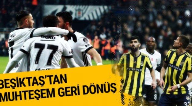 Beşiktaş Fenerbahçe'yi 3-1 yendi