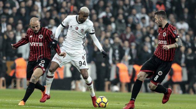 Beşiktaş Gençlerbirliği 1-0 Bitti