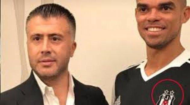 Beşiktaş ile anlaşan Pepe, iki yıldızlı Forma giydi