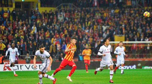 Beşiktaş Kayseri'de 2 puan bıraktı 1-1