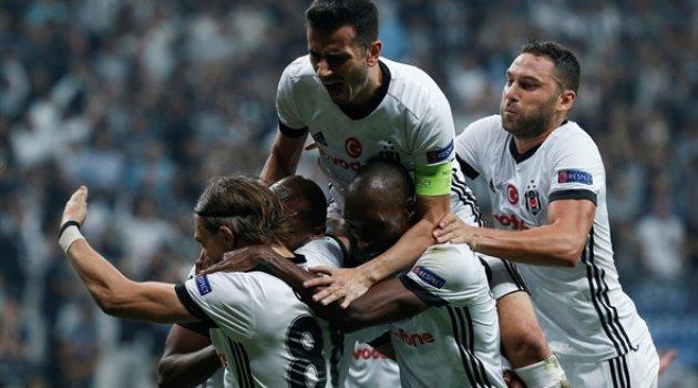 Beşiktaş-Leipzig  2-0 Kartallar yükseklerde uçtu