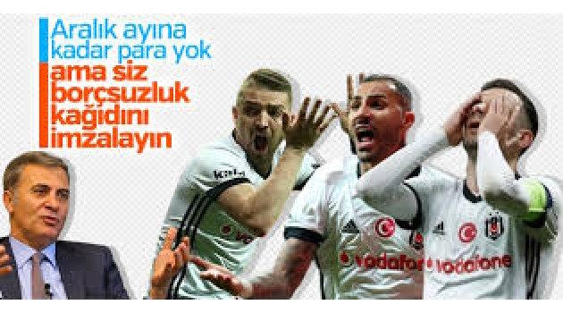 Beşiktaş'ta mali kriz! Ödeme yapılamayacak
