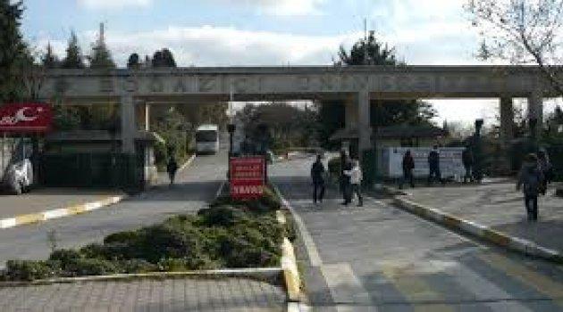 Boğaziçi Üniversitesi kampüsünde şüpheli araç alarmı