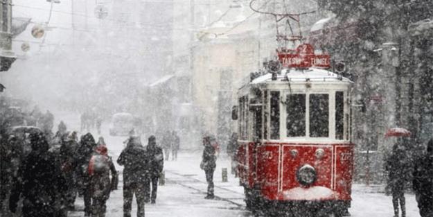 Bu uyarıya dikkat! İstanbul'a kar geliyor