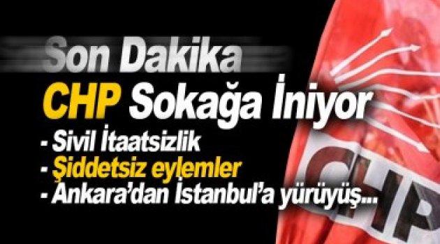 CHP sokağa iniyor! Kılıçdaroğlu elinde pankartla en önde yürüyecek