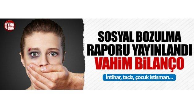 CHP 'Türkiye'de sosyal bozulma' raporu hazırladı...
