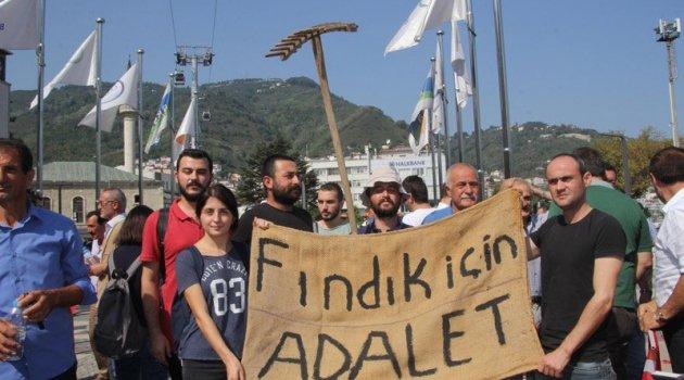 CHP'nin 'Fındık İçin Yürüyoruz' yürüyüşü başladı