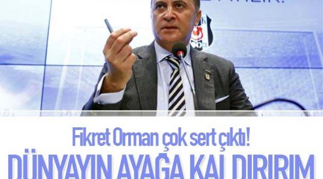 DEMİŞTİ FİKRET Konyaspor ve Beşiktaş ve Fikret Orman'a verilen cezaları açıkladı!