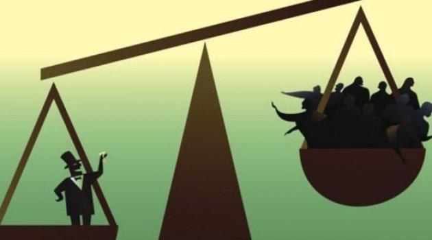 Dünyanın yüzde 1'i, küresel servetin yüzde 82'sine sahip!