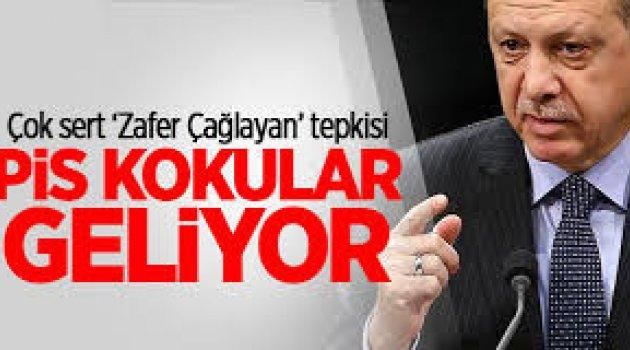 Erdoğan'dan son dakika Zafer Çağlayan açıklaması: Pis kokular geliyor