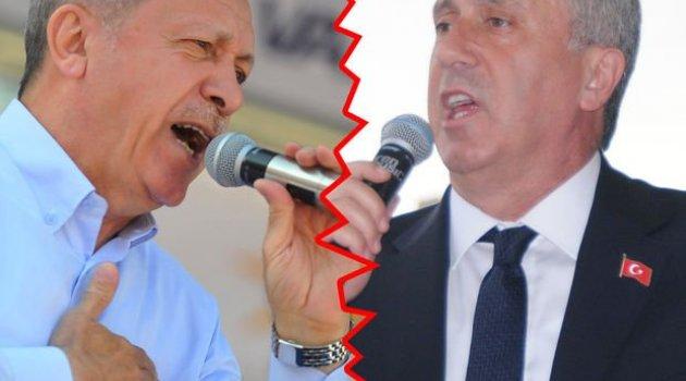 Erdoğan ile İnce arasında Diyarbakır tartışması