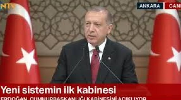 Erdoğan yeni kabineyi açıkladı! İşte bakan olan isimler!