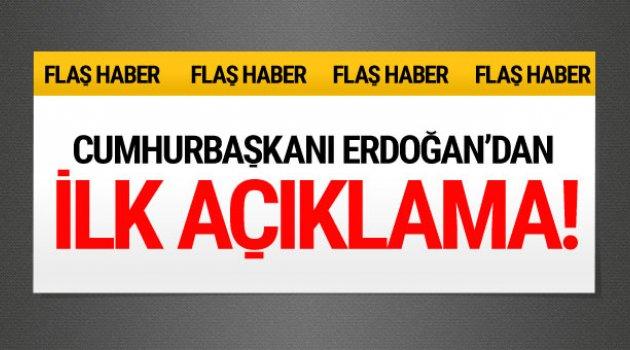 Erdoğan'dan referandumla ilgili ilk açıklama!