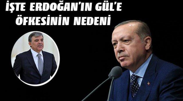 Erdoğan'ın Abdullah Gül öfkesinin nedeni