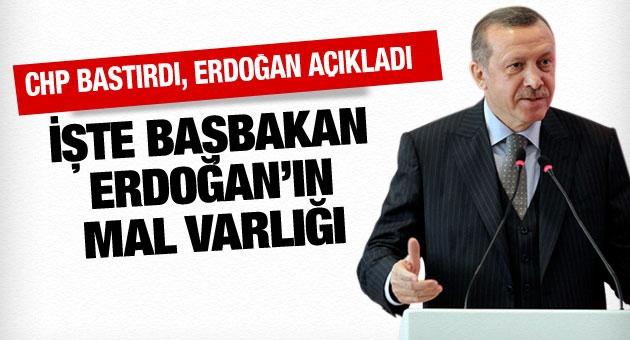 Erdoğan'ın son açıklanan mal varlığı