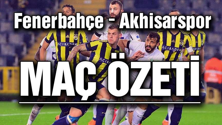 Fenerbahçe Akhisarspor'a sahasında yenildi...