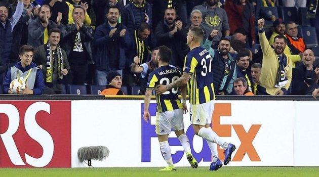 Fenerbahçe, Avrupa'da coştu 2-0