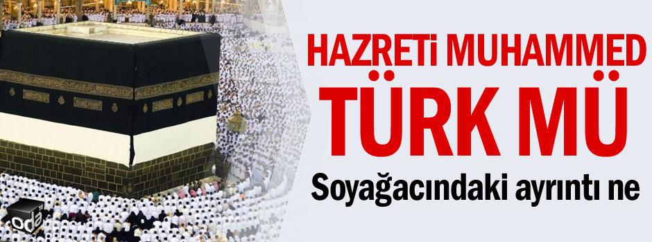 Hazreti Muhammed Türk mü