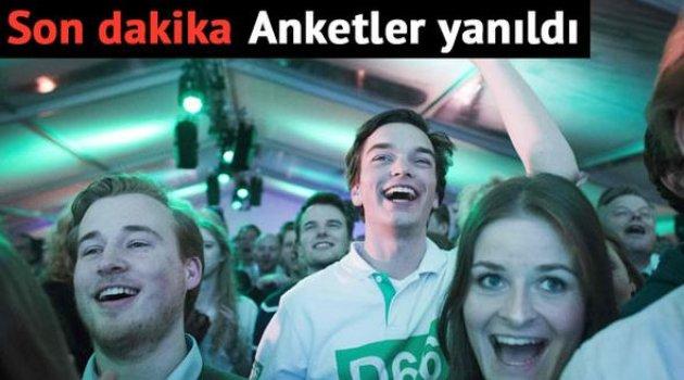 Hollanda seçimlerinde sürpriz sonuç