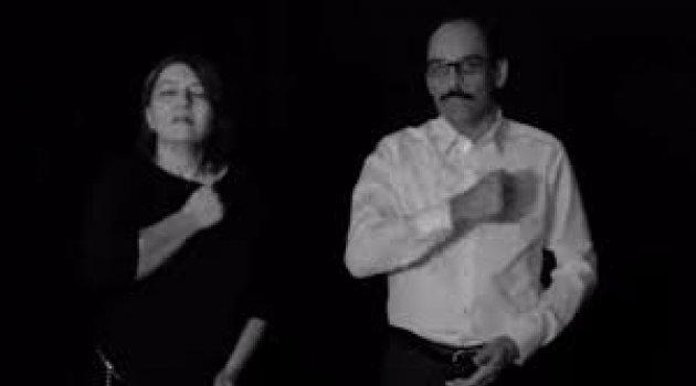 İbrahim Kalın, Yavuz Bingöl ve Erol Parlak'tan işitme engelliler için türkü