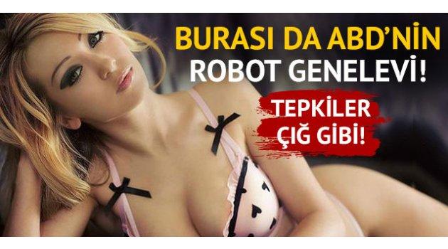 Burası da ABD'nin seks robotu genelevi