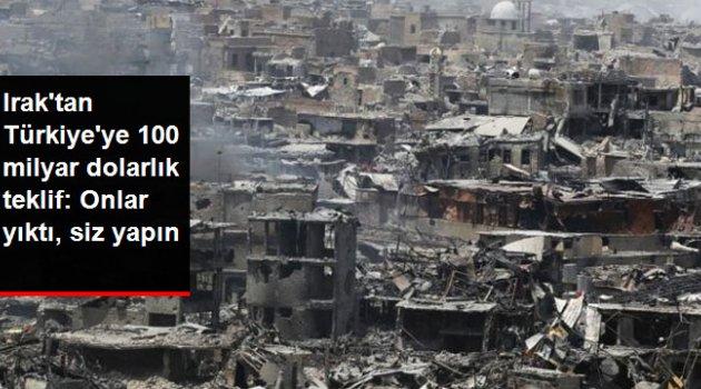 Irak Yönetimi, DEAŞ'tan Kurtarılan Bölgelerin İmarı İçin Türkiye'yi Resmen Davet Etti