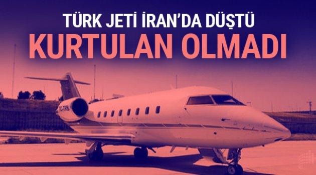 İran'da Türk jeti düştü: 11 ölü