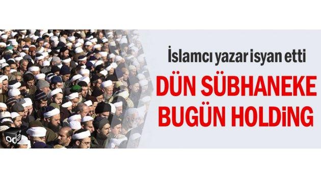 İslamcı yazar isyan etti