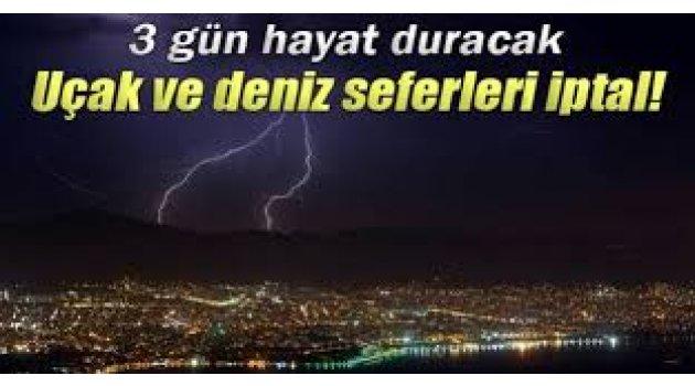 İstanbul hava durumu saatlik tahmin 3 gün uyarısı