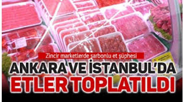 İstanbul ve Ankara bir şarbon alarmı daha