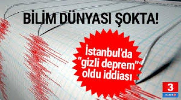 İstanbul'da 5,8 büyüklüğünde deprem ! Ama kimse hissetmedi...
