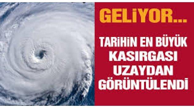 Kasırga adım adım Felaket Türkiye'ye geliyor
