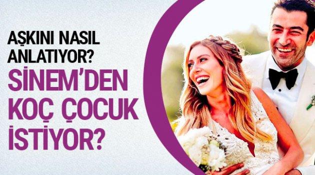 Kenan İmirzalıoğlu, Sinem Kobal'dan kaç çocuk istiyor?