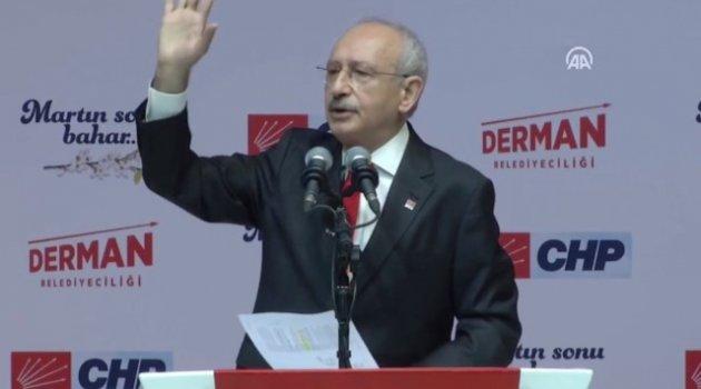 Kılıçdaroğlu CHP'nin seçim bildirgesini açıkladı !